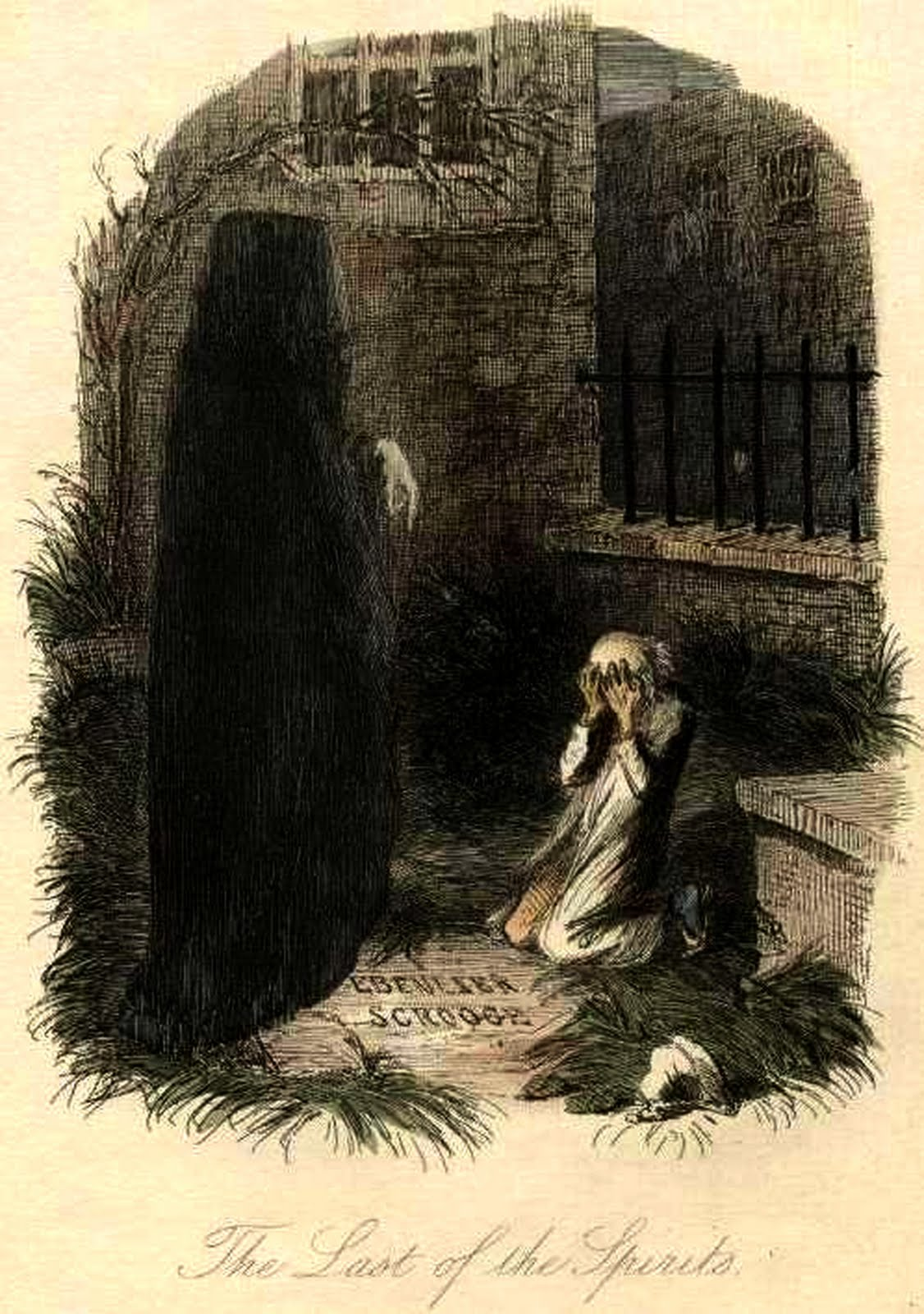 Ghost Of Christmas Yet To Come.Ghost Of Christmas Yet To Come Christmas Carol Dickens