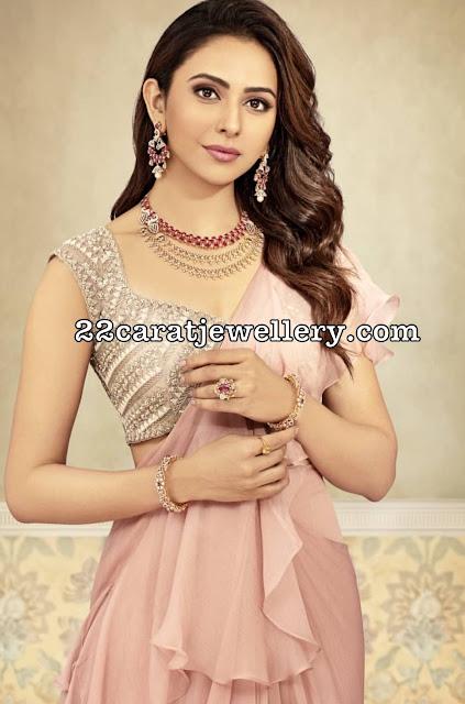 Rakul Preet Singh Vaibhav Jewellers Ads