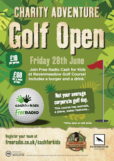 Cash For Kids Adventure Golf Open at Jungle Safari Adventure Golf in Worcester