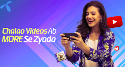 Telenor Youtube Packages Daily Weekly and Monthly