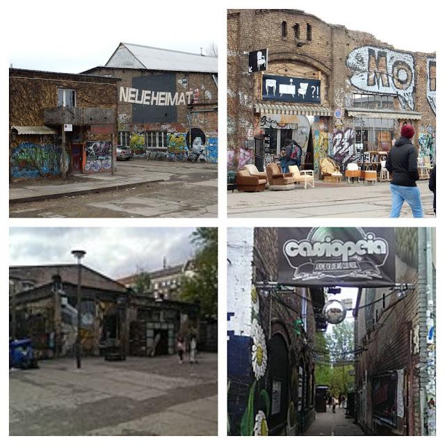 Onde comer e se divertir em Berlim - RAW Gelände