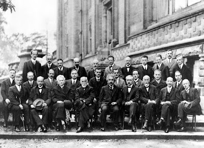 Participants at the Fifth Solvay Conference in 1927.