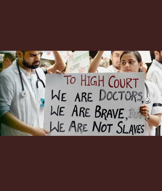 This is the condition of our doctors during the COVID-19 epidemic.Specially in states like Uttar Pardesh.