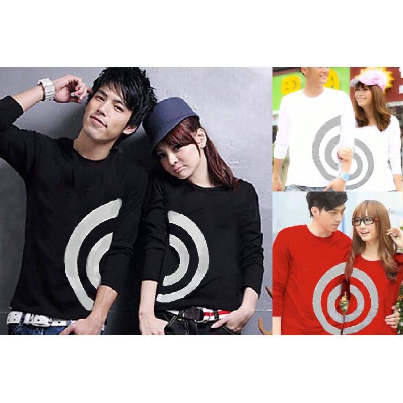 Jual Online LP Spiral Couple Murah di Jakarta Bahan Combed Terbaru