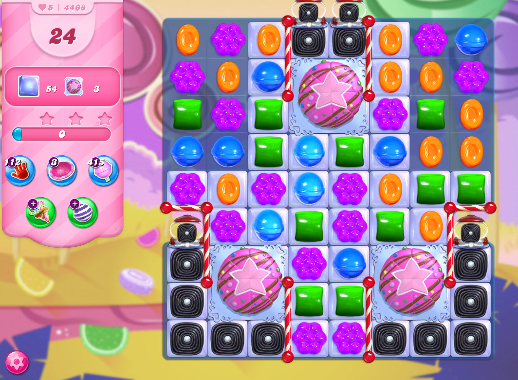 Candy Crush Saga level 4468