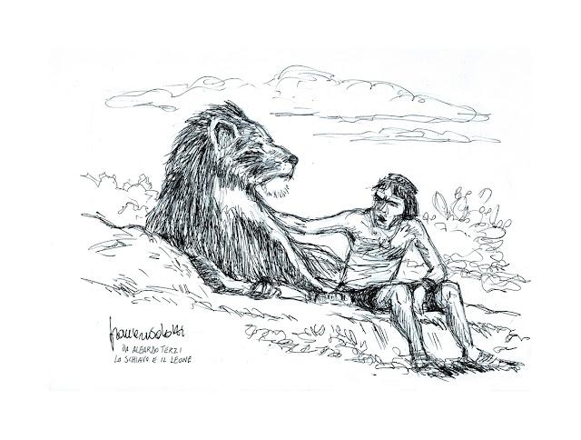 Lo schiavo e il leone Aleardo Terzi