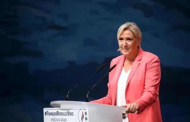 """VIDÉO : Pour Marine Le Pen """"Éric Dupond-Moretti, c'est Christiane Taubira en pire...!"""""""