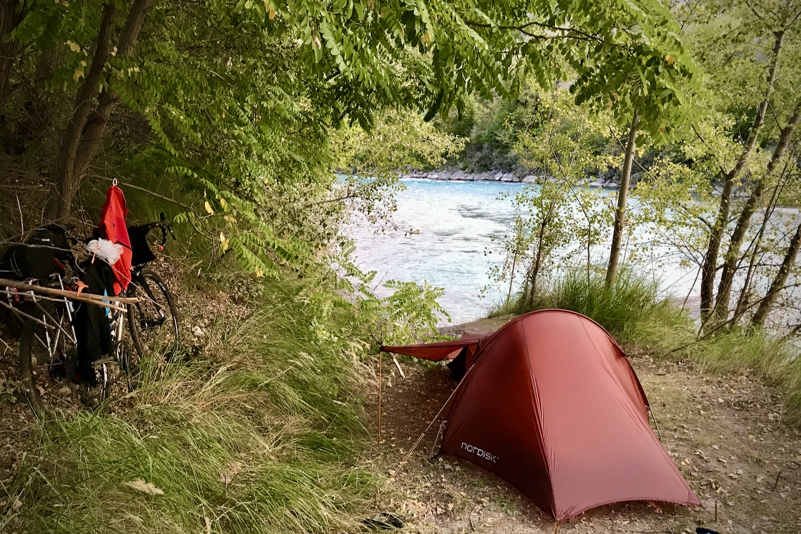 Wild camping France - Tim Wiggins