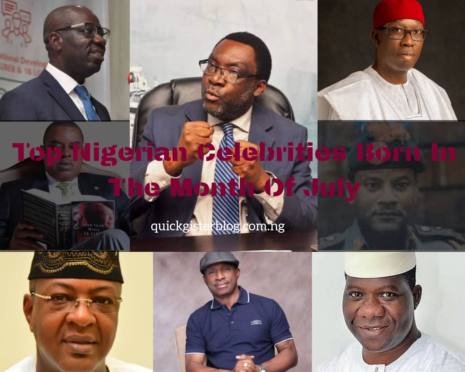 Nigerian Political Icons Born In July
