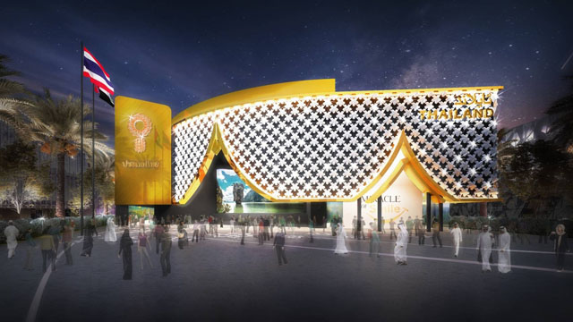 Thailand pavilion at Expo 2020 Dubai