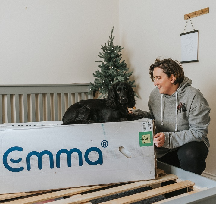 Benefits of Sleeping With Your Dog: Emma Mattress