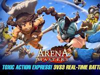 Arena Masters : Legend Begins Hacked MOD APK OBB v17.32.163 Terbaru for Android