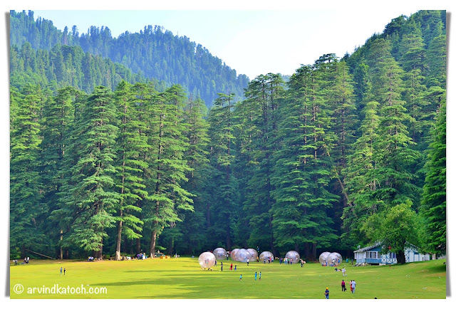 Games at the Khajjiar