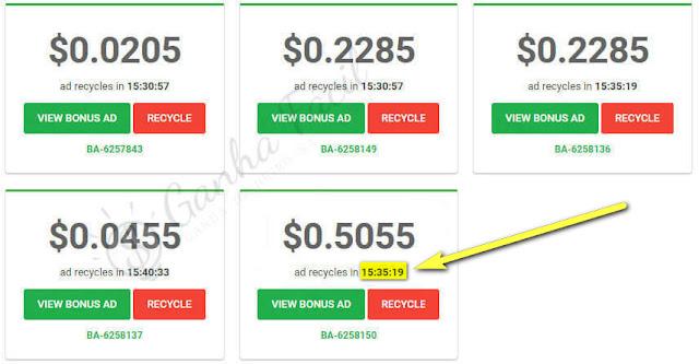 paidverts dinheiro ganha ganhar pontos bap anúncios pagos paid ads