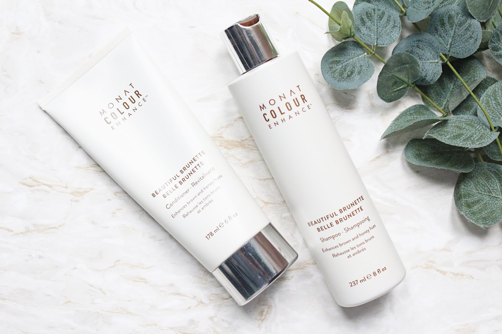 Monat Colour Enhance Beautiful Brunette Shampoo & Conditioner Review