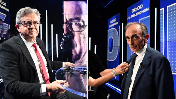 [VIDEO LE REPLAY] Débat entre Eric Zemmour et Jean-Luc Mélenchon : le polémiste offensif face à l'insoumis