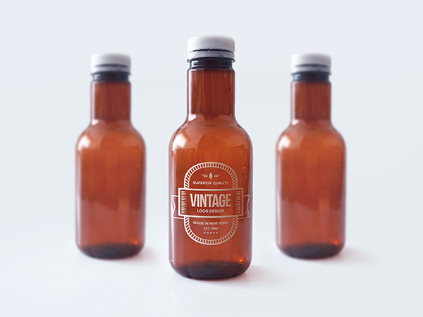 Download Template Mockup Terbaru - Bottle Mockup