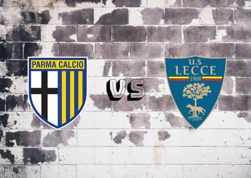 Parma vs Lecce  Resumen