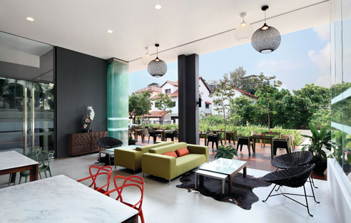 145A Moulmein Serviced Apartments - Breakfast Lounge