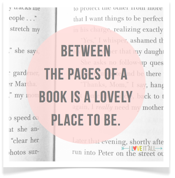 iloveitallwithmonikawright.com : Between the Pages | Sunday Photos