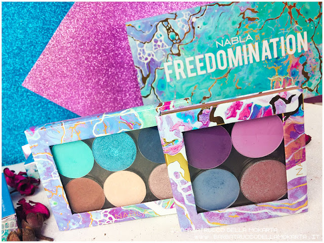 palette liberty freedomination collection summer eyeshadow lipstick diva crime dreamy matte