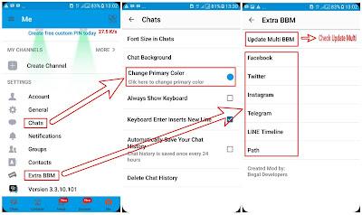 BBM Clone Apk Versi Baru Mod Rikri Rikardo