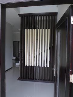 Partisi Rumah Model Sirip Sirip ( Sekat Ruang Semarang )