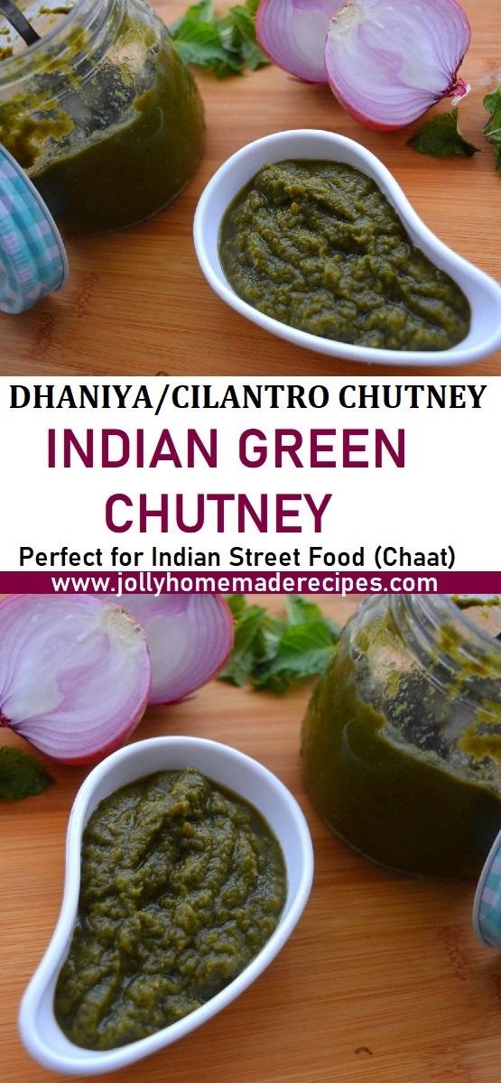 Green Chutney for Chaats