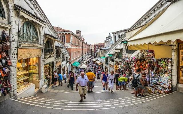 Região para compras em Veneza