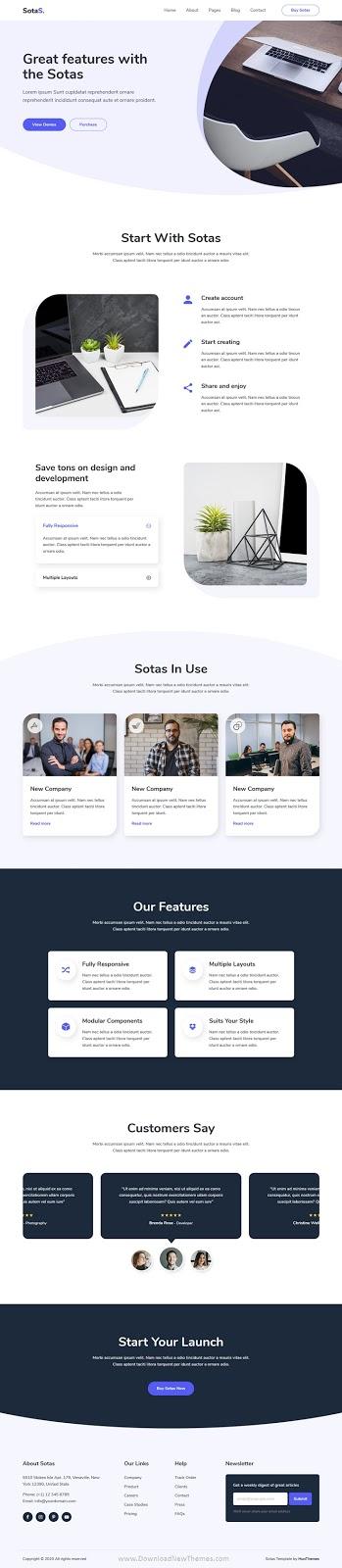 App, Software & SaaS HTML Template