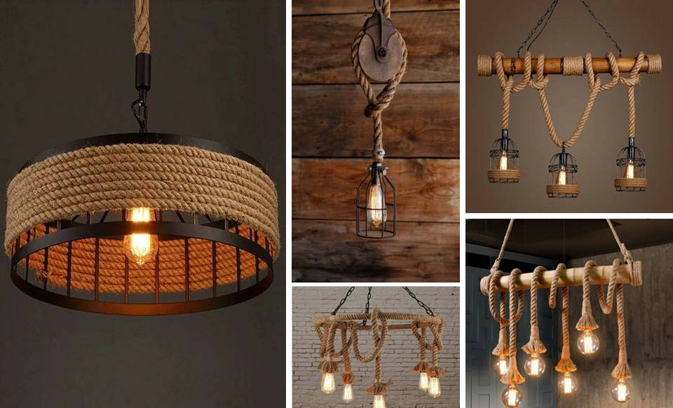 Hanging Lighting Ideas 15 Diy Rope Light I
