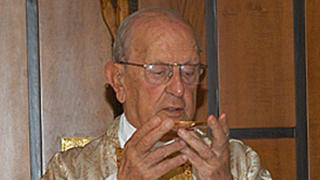 Marcial Maciel, pictured in 2005, founded the Legionaries of Christ in 1941