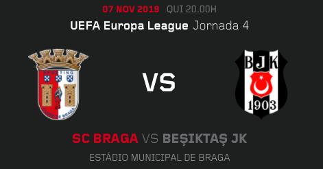 Jueves decisivo para tres equipos portugueses en Europa. Expectación por ver cómo reacciona el Braga tras el tirón de orejas de su presidente
