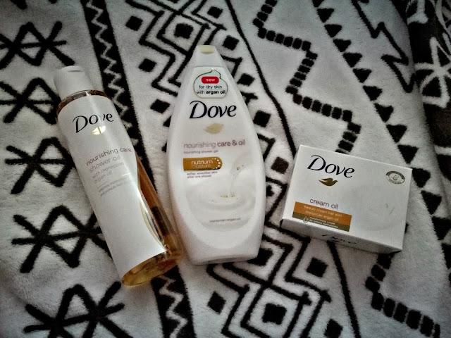 Nourishing care&oil -> pachnące trio od Dove