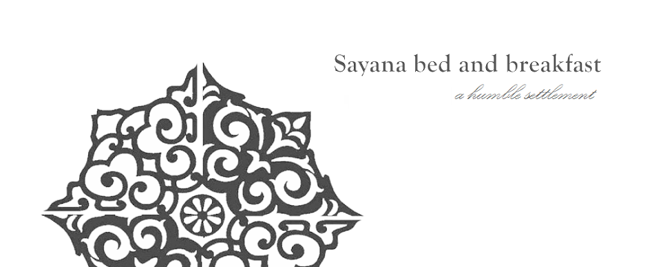 Sayana bed and breakfast