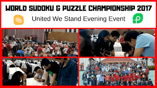 12th World Sudoku Championship and 26th World Puzzle Championship extra event