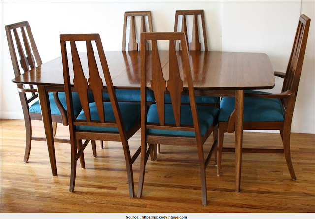 Great Broyhill Dining Table Image