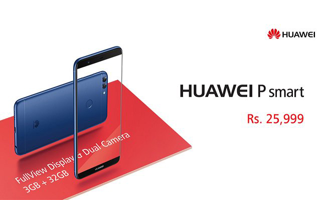 Huawei Launches P Smart Device  in Pakistan