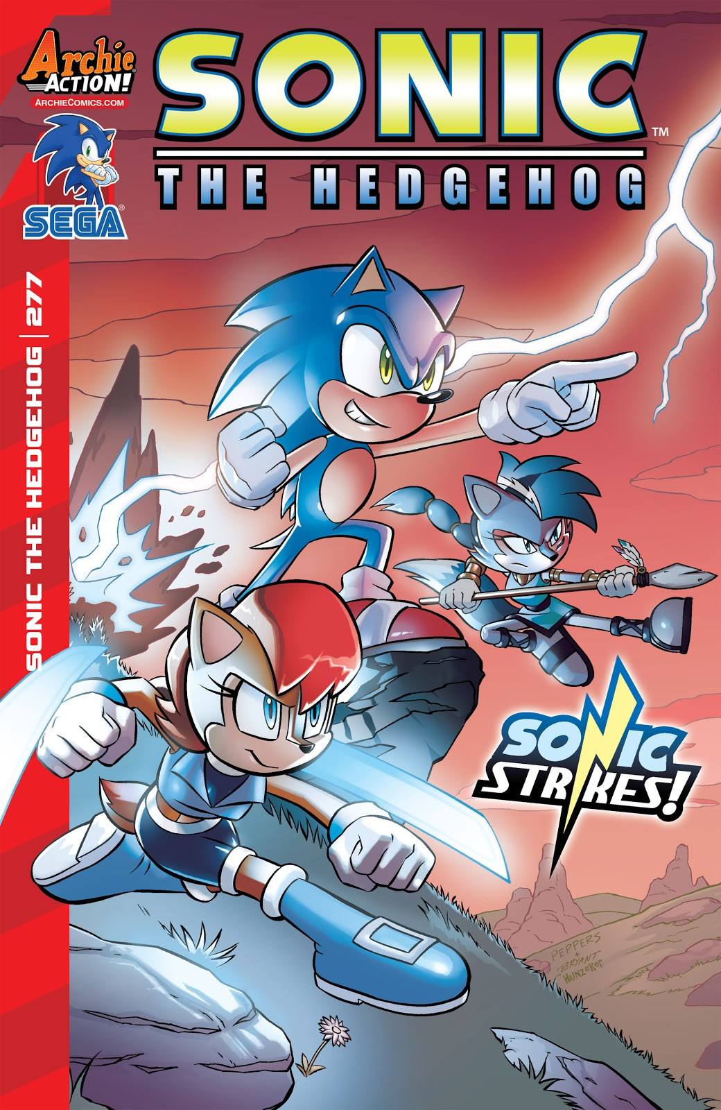 Hedgehogs Can T Swim Sonic The Hedgehog Issue 277