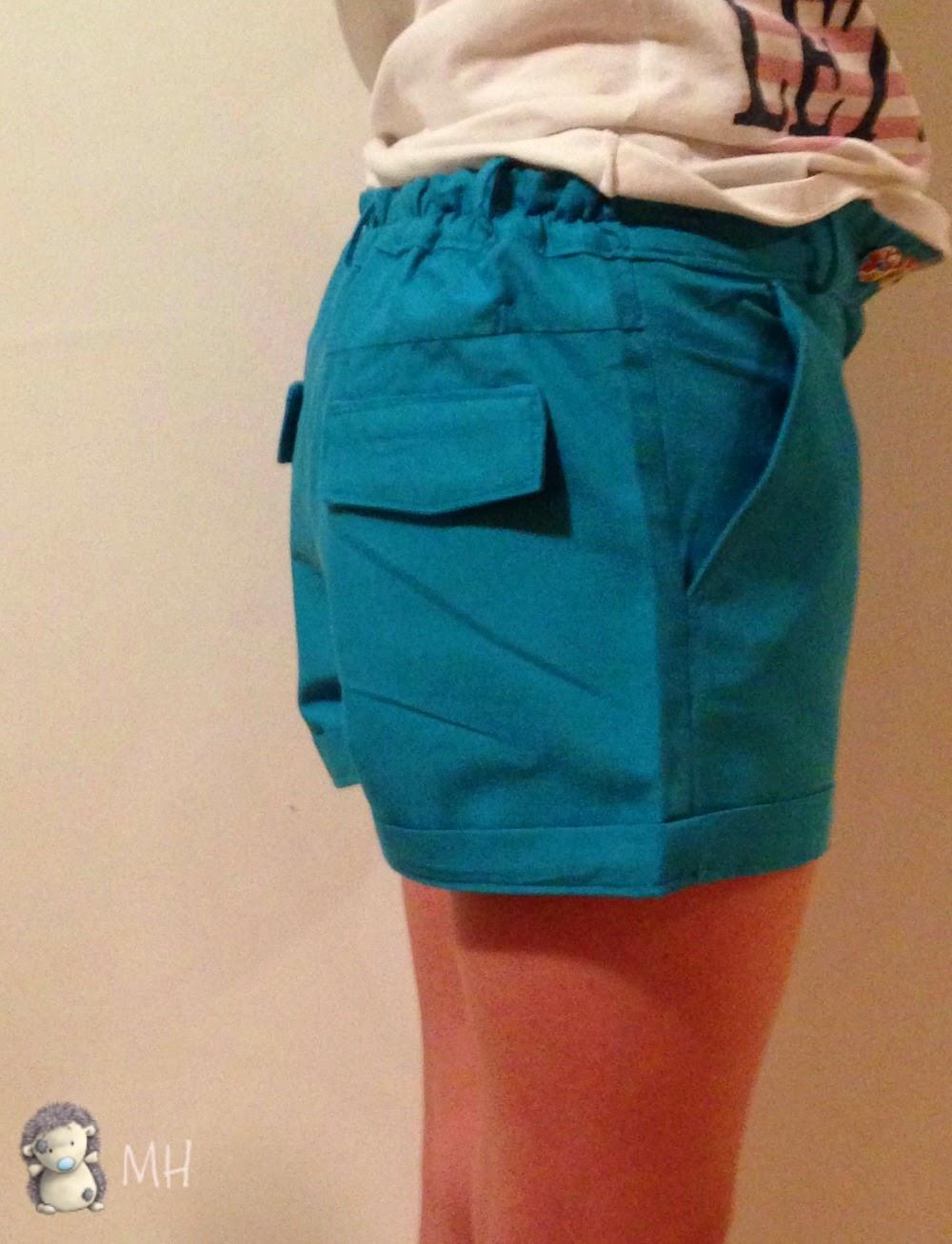 pantalon corto niña