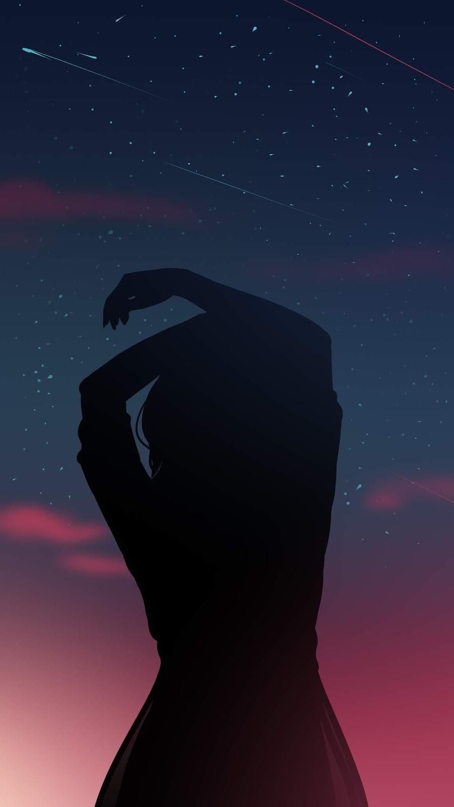 Cô đơn giữa bầu trời đêm