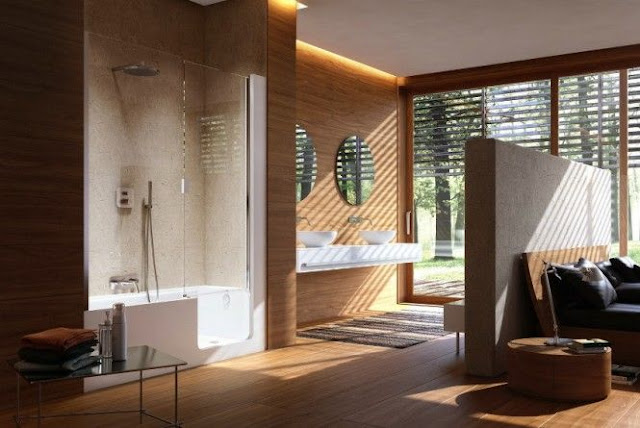 Big Bathroom Interior Design
