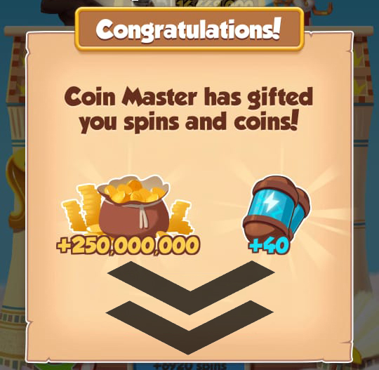 30/01/2021 Today's 3RD Link 40 SPINS + 250M  Coins