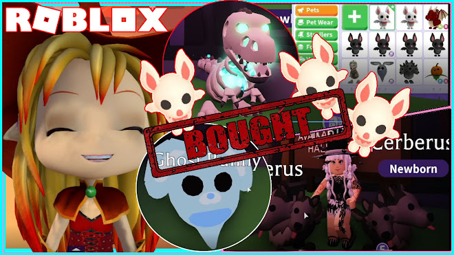 Chloe Tuber Roblox Adopt Me Getting All The New Halloween Pets