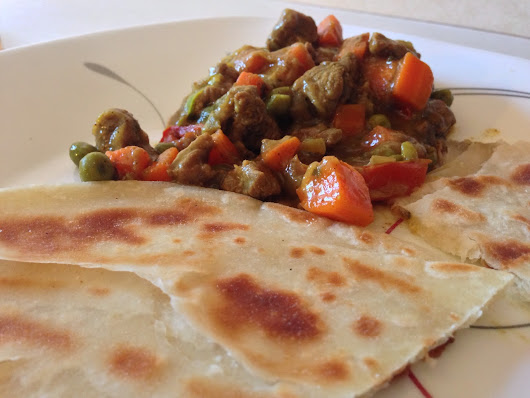 Chapati (East african version)