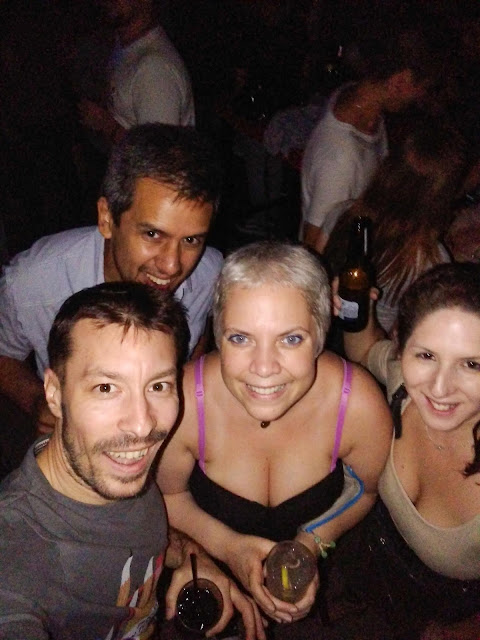 ...and then we went clubbing with Nuria & Telemaco at 2:30am in San Miguel, Buenos Aires, Argentina