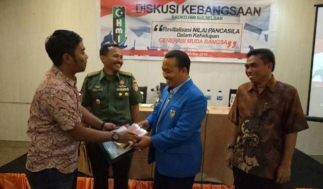Mantan Ketua Badko HMI Sulselbar Ramaikan Musprov KNPI Sulsel