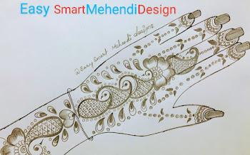 Beautiful Cross Dots Mehndi Design Navratri Special | Pencil Drawing and Shading
