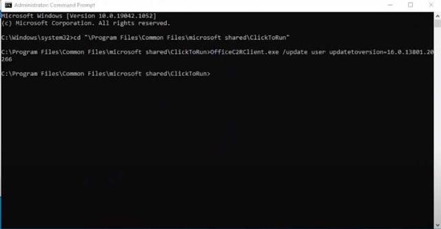 Copy Paste kode di command prompt
