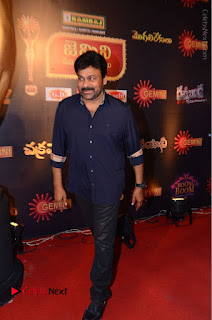 Chiranjeevi Stills at Gemini TV Puraskaralu Event  0017.JPG